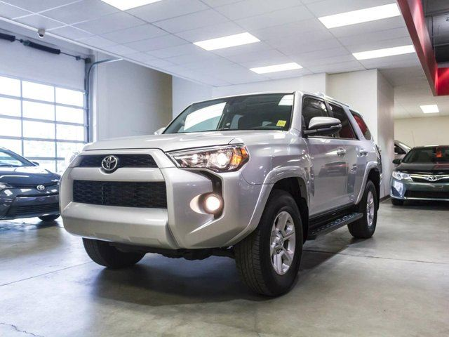 2015 TOYOTA 4Runner SR5 Upgrade, Navigation, Leather, Heated Seats, Sunroof, Touch Screen, Back Up Camera, Alloy Rims, Bluetooth, V6, 4x4 in Edmonton, Alberta