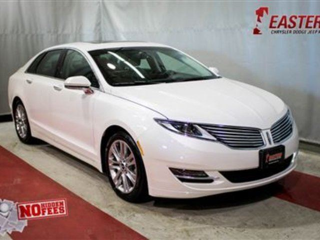 2013 LINCOLN MKZ 2.0 AT LEATHER MOON ROOF BACK UP CAMERA XM RADIO in Winnipeg, Manitoba