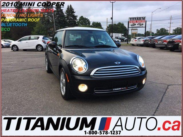 2010 MINI COOPER Panoramic Roof+HID Lights+Heated Leather Seats+ECO in London, Ontario