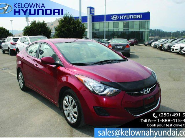 2013 HYUNDAI ELANTRA GL 4dr Sedan in Kelowna, British Columbia