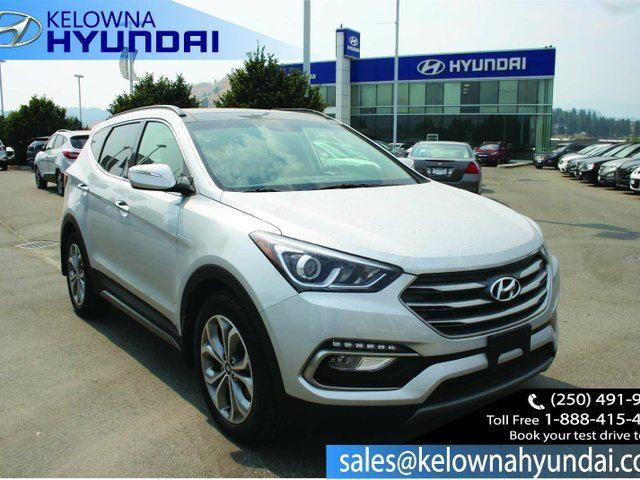 2017 HYUNDAI SANTA FE 2.0T SE 4dr All-wheel Drive in Kelowna, British Columbia
