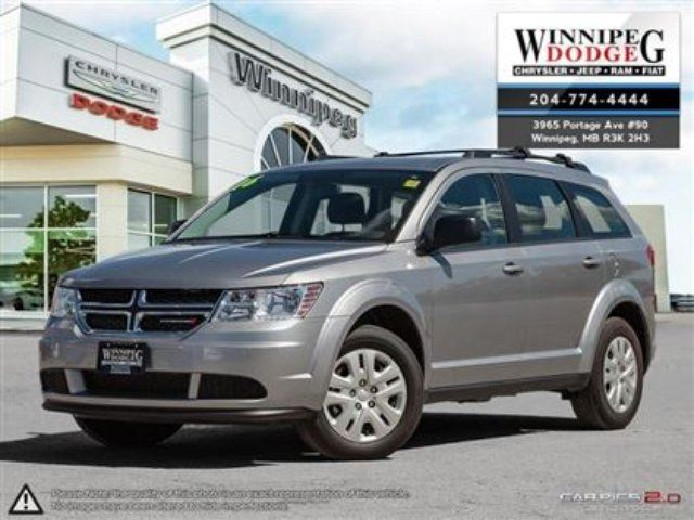 2016 DODGE JOURNEY Canada Value Package in Winnipeg, Manitoba