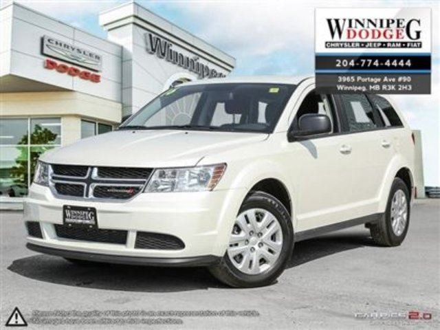 2016 DODGE JOURNEY CVP/SE Plus in Winnipeg, Manitoba