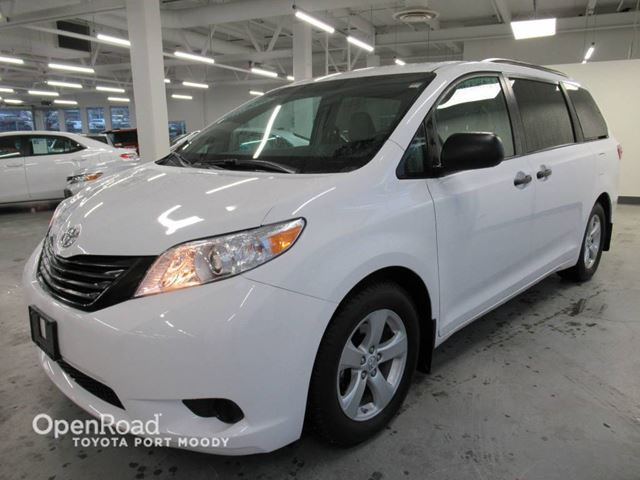 2015 TOYOTA SIENNA Standard Pkg - Bluetooth, Climate Control, Back in Port Moody, British Columbia