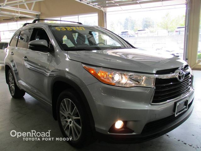 2015 TOYOTA HIGHLANDER XLE - Navigation, Backup Camera, Bluetooth in Port Moody, British Columbia