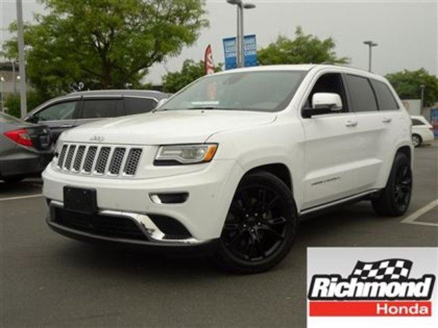 2015 JEEP GRAND CHEROKEE Summit! Balance Of Factory Warranty! in Richmond, British Columbia
