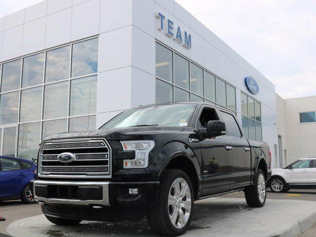 2016 FORD F-150 Limited, 3.5L Ecoboost, 360 Camera, Adaptive Cruise and Lane Keep Assist in Edmonton, Alberta