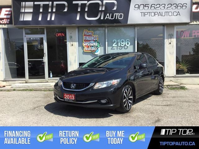 2013 HONDA Civic Touring ** Nav, Leather, Bluetooth, Sunroof, Ba in Bowmanville, Ontario