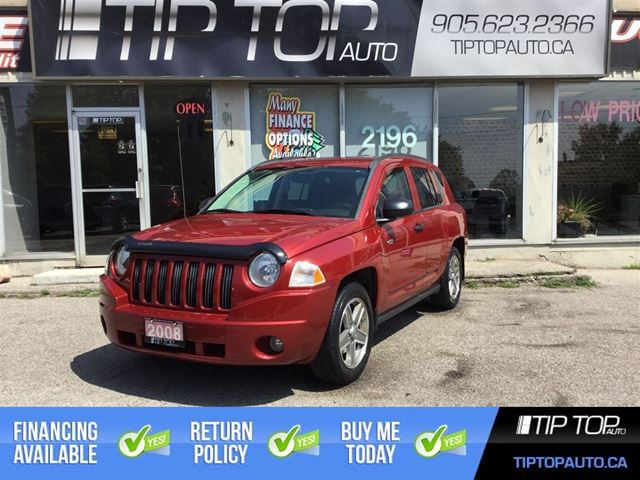 2008 JEEP COMPASS Sport ** 4X4, Automatic, Heated Seats, Low KMs  in Bowmanville, Ontario