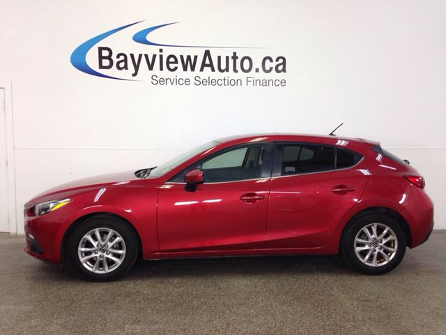 2014 MAZDA MAZDA3 GS- SKYACTIV! TINT! ROOF! HEATED SEATS! REV CAM! in Belleville, Ontario