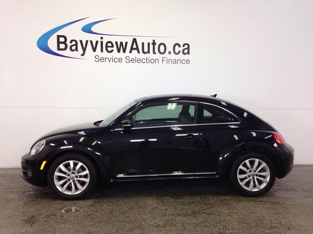 2015 VOLKSWAGEN NEW BEETLE  COMFORTLINE- TDI! PANOROOF! HEATED SEATS! in Belleville, Ontario