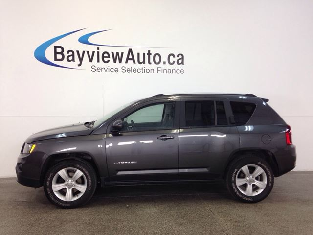 2016 Jeep Compass NORTH- 4x4! ALLOYS! HEATED SEATS! UNDER 1,100 KM! in Belleville, Ontario