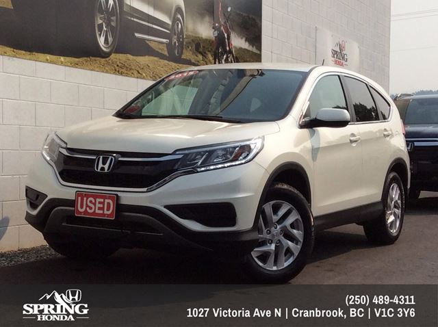 2015 Honda CR-V SE $191 Bi-Weekly in Cranbrook, British Columbia
