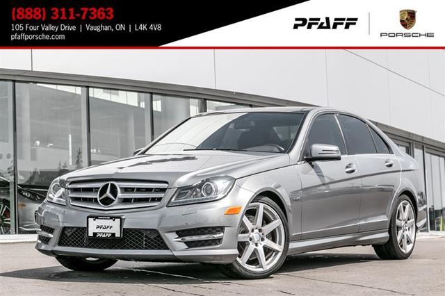 2012 MERCEDES-BENZ C-CLASS C350 4MATIC Sedan in Woodbridge, Ontario
