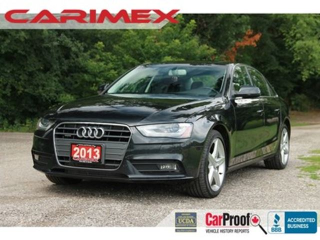2013 AUDI A4 2.0T Premium Plus NAVI  B&O Sound system  Lane ass in Kitchener, Ontario