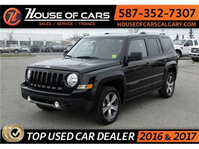 2016 JEEP PATRIOT High Altitude / AWD / Leather / Sunroof in Calgary, Alberta