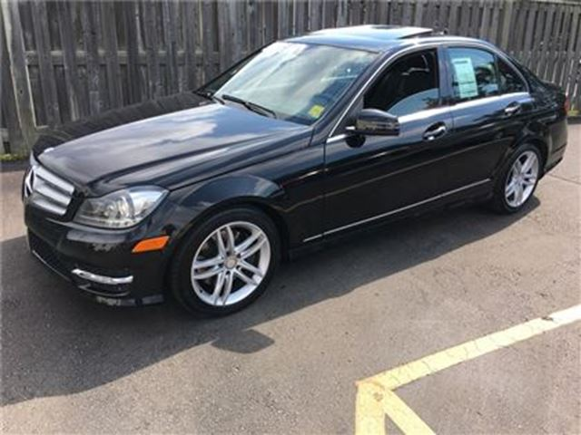 2013 MERCEDES-BENZ C-CLASS 300, Automatic, Navigation, AWD, Only 34,000km in Burlington, Ontario