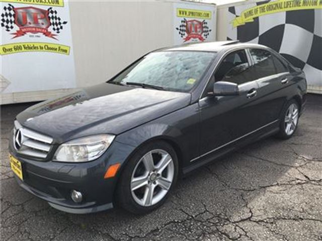 2010 MERCEDES-BENZ C-CLASS 300, Automatic, Navigation, Leather, Sunroof, AWD in Burlington, Ontario