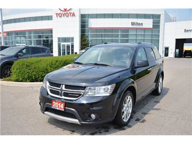 2014 DODGE JOURNEY R/T Leather, Sunroof, Navigation in Milton, Ontario