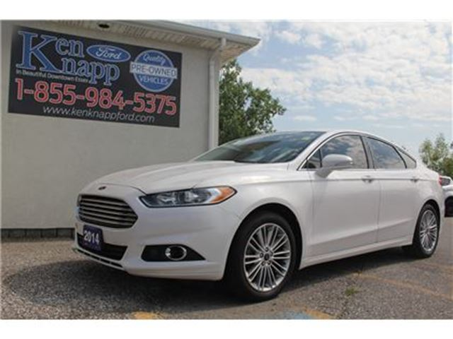 2014 Ford Fusion SE   LEATHER   NAV in Essex, Ontario