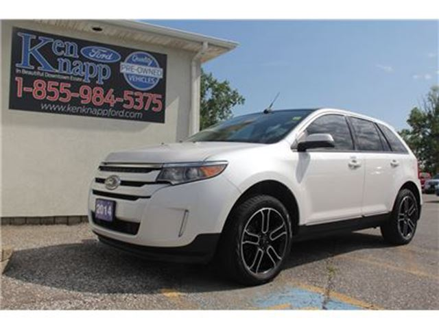 2014 Ford Edge SEL   AWD   NAV   MOONROOF in Essex, Ontario