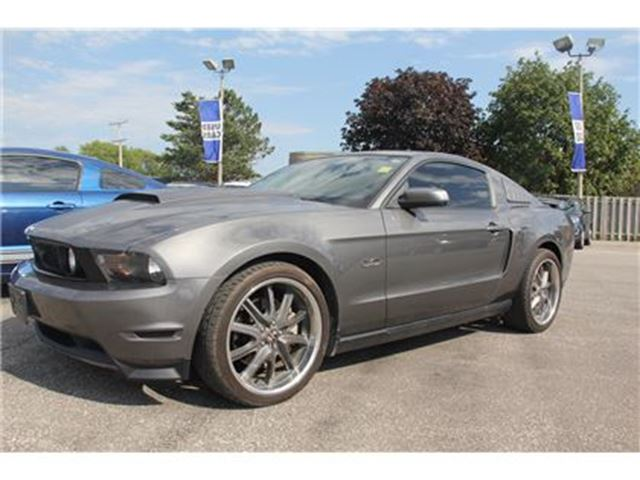 2011 Ford Mustang GT   MANUAL   RWD   LEATHER in Essex, Ontario
