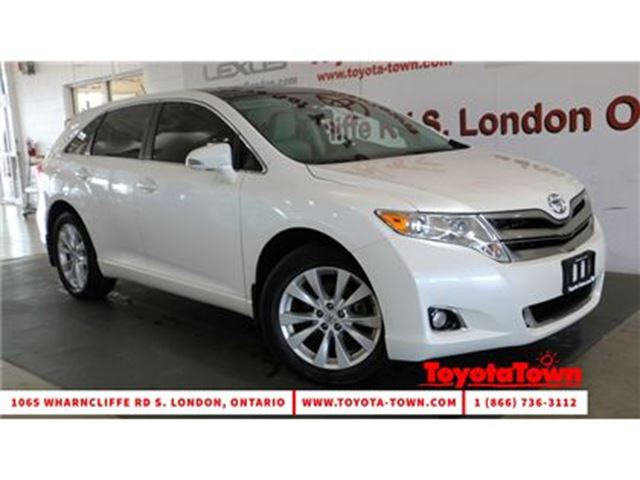 2013 TOYOTA VENZA AWD 4 CYL PREMIUM LEATHER MOONROOF in London, Ontario