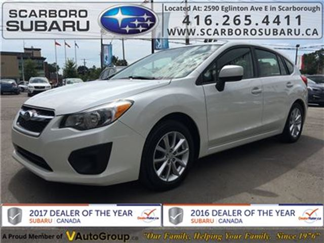 2013 SUBARU IMPREZA 2.0i Touring PKG, FROM 1.9% FINANCING AVAILABLE in Scarborough, Ontario