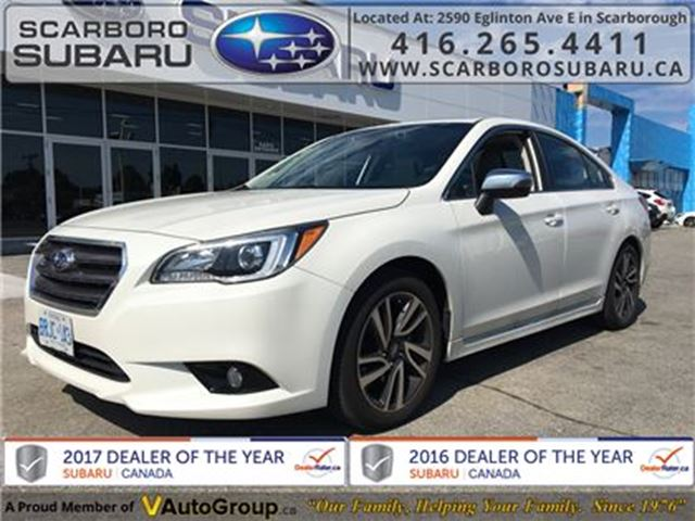 2017 SUBARU LEGACY Sport Technology, FROM 1.9% FINANCING AVAILABLE in Scarborough, Ontario