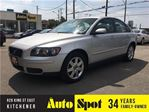 2006 Volvo S40 2.4L/LOW,LOW KMS!/ BEAUTFIFUL CAR!! in Kitchener, Ontario