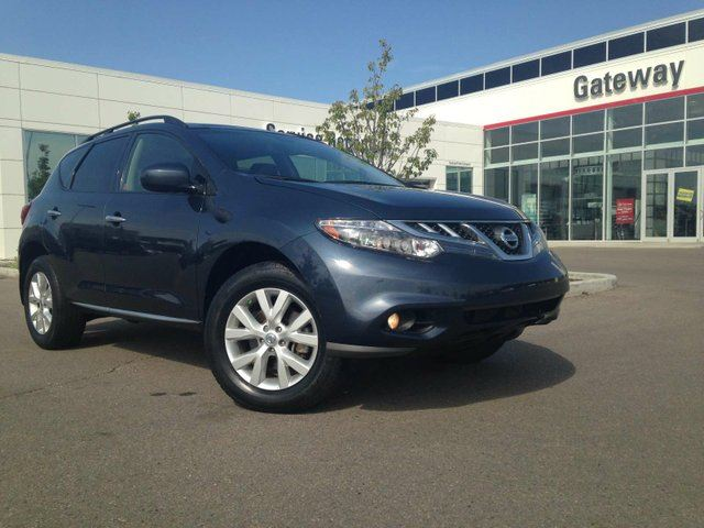 2013 NISSAN MURANO 4DR SL AWD Leather, Backup Cam, Sunroof, Push Button Start in Edmonton, Alberta