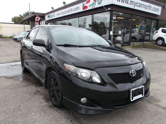 2010 TOYOTA COROLLA S in North Bay, Ontario