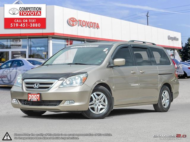 2007 HONDA ODYSSEY Touring One Owner, No Accidents in London, Ontario