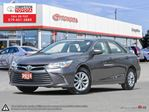 2015 Toyota Camry LE Toyota Certified, One Owner, No Accidents, Toyota Serviced in London, Ontario