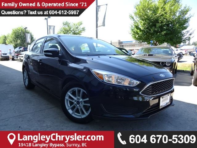 2015 FORD FOCUS SE *ACCIDENT FREE*ONE OWNER*LOCAL BC CAR* in Surrey, British Columbia