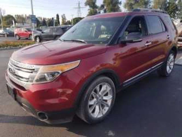 2013 FORD EXPLORER XLT 7-PASSENGER! LEATHER! SUNROOF! HEATED SEATS! REAR CAMERA! POWER LIFT GATE! TRAILER+TOW PKG! in Guelph, Ontario