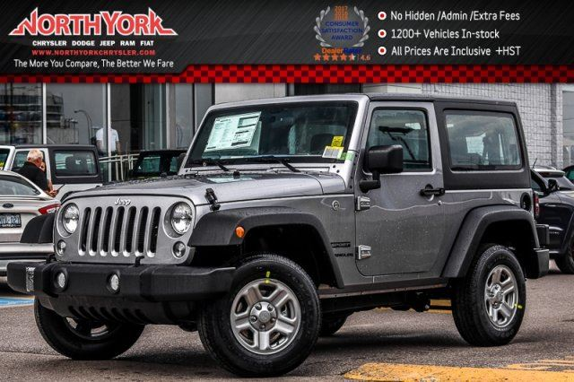 2017 JEEP WRANGLER Sport in Thornhill, Ontario