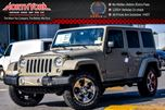 2017 Jeep Wrangler Unlimited Sahara 4x4 DualTop,LED,Connect.Pkgs Nav R_Start 18Alloys  in Thornhill, Ontario