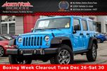 2017 Jeep Wrangler Unlimited Rubicon 4x4 DualTop,LED,Cold Wthr.,Connect.Pkg 17Alloys  in Thornhill, Ontario