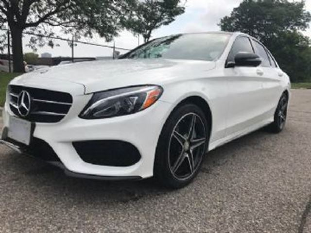 2016 MERCEDES-BENZ C-CLASS C300 4MATIC Premium  and Sport Package in Mississauga, Ontario