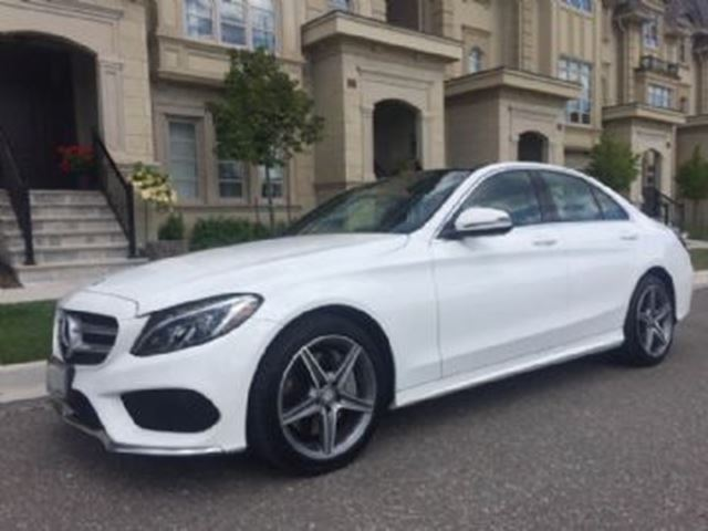 2016 MERCEDES-BENZ C-CLASS 4dr Sdn C 300 4MATIC Premium and Sport Package in Mississauga, Ontario
