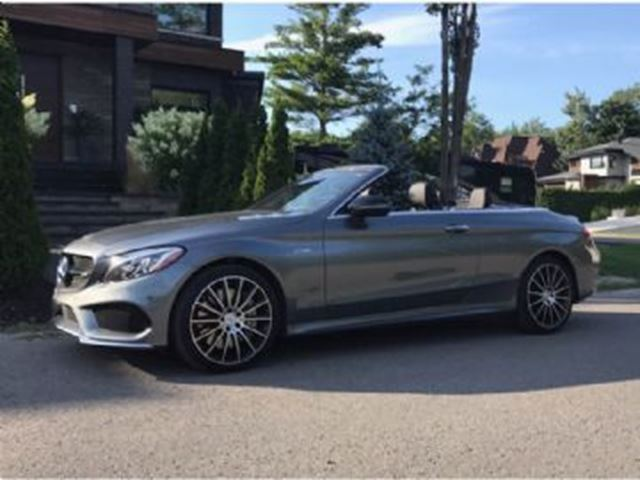 2017 MERCEDES-BENZ C-Class C43 AMG 4MATIC Premium Package w/ AMG Options LED in Mississauga, Ontario
