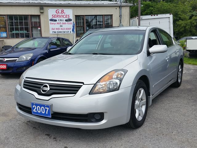2007 NISSAN ALTIMA 2.5 S,certified,low kms!! in Oshawa, Ontario
