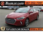 2017 Hyundai Elantra GLS /  Sunroof / Back up Camera / Bluetooth in Calgary, Alberta