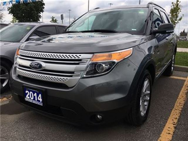 2014 Ford Explorer *XLT 4WD Leather Sunroof Navi in Ajax, Ontario