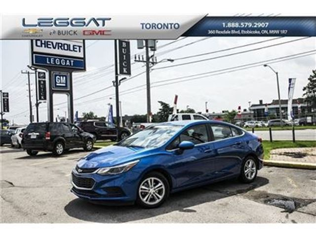 2016 CHEVROLET Cruze LT, Fuel Economy, Power Sunroof and more in Rexdale, Ontario