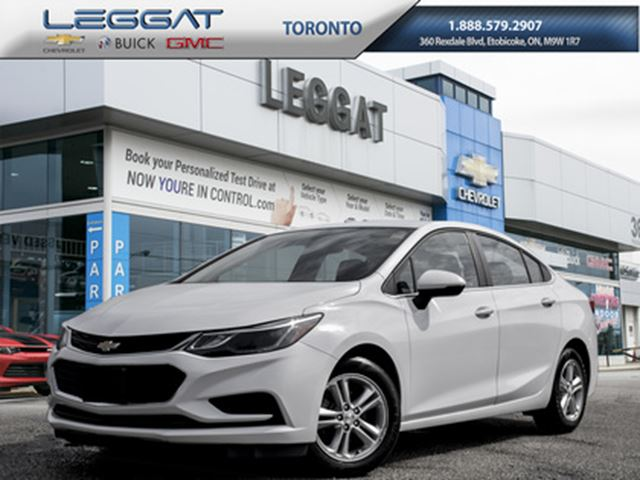 2017 Chevrolet Cruze LT Auto, Sunroof, Remote starter and more in Rexdale, Ontario