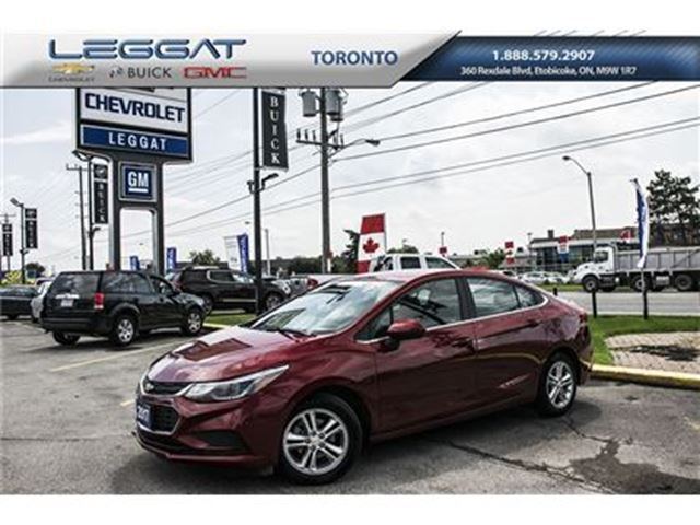 2017 Chevrolet Cruze LT, Remote Starter, Power Sunroof and more in Rexdale, Ontario