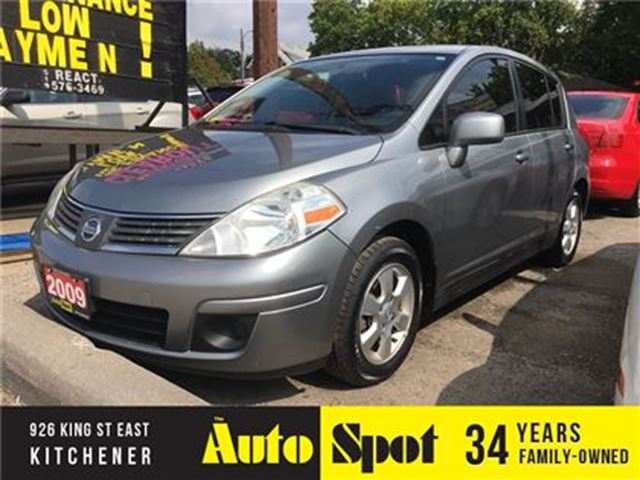 2009 NISSAN VERSA 1.8 SL/PRICED FOR A QUICK SALE! in Kitchener, Ontario