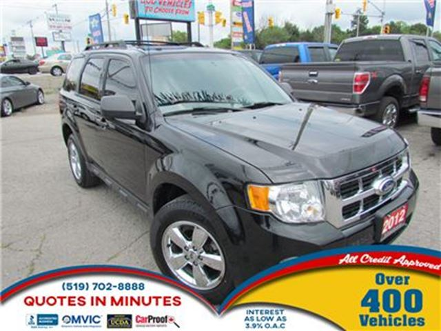 2012 FORD ESCAPE XLT   AWD   BLUETOOTH   SAT RADIO in London, Ontario